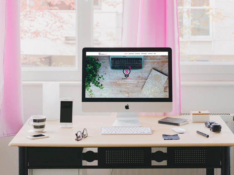 création de site internet wordpress pour une conseillère en relations presse - ordesign graphiste print et web