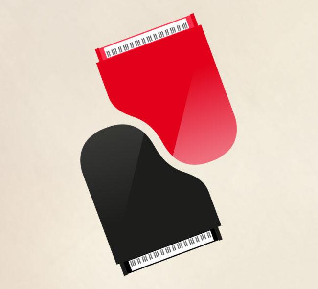 cartes de visite pour pianiste (vignette avec pianos) - ordesign graphisme et webdesign