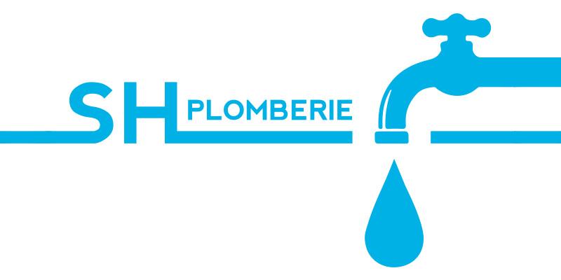logo SH plomberie plombier chauffagiste - ordesign graphiste webdesigner